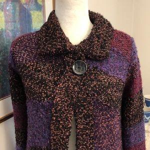 Anthro Curio Cardigan Sweater